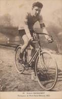 CYCLISME - Robert JACQUINOT - Vainqueur De Paris-Saint-Etienne 1923 - Cyclisme
