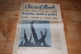 Asi Va El Mundo Revista De La Prensa Universal N°3 (1934) Turquie, Catalogne, P. Iglesias, Hitler, Lupescu, H. G. Wells - Revues & Journaux