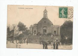 Cp , 44 , LA BAULE , Sortie De Messe , Voyagée - La Baule-Escoublac