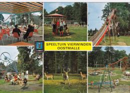 Grote Kaart Speeltuin Vierwinden Oostmalle Malle Turnhoutsebaan 117 Kempen (In Zeer Goede Staat) - Malle