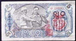 KOREA NORN. COREA 1947 5  YUAN - Korea (Nord-)