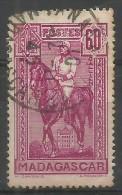 Madagascar - 1940 General Gallieni 60c Used   Sc 183 - Madagascar (1889-1960)