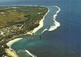 PORT DE ST GILLES LES BAINS VUE AERIENNE LA REUNION - La Réunion
