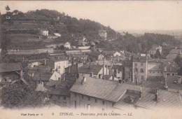 Cp , 88 , ÉPINAL , Panorama Pris Du Château - Epinal
