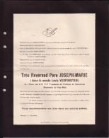 HERENTALS MISSIONNAIRE Père Joseph-Marie Louis VERPOORTEN Trappiste WESTMALLE COngo Belge 1882-1923 BAMANIA - Obituary Notices