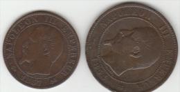 Deux Bronzes Rares De Napoléon III - France