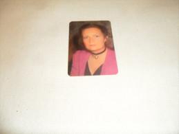 ANCIEN CALENDRIER DE POCHE  1988  / PUB  ELECTIONS LA ROSE AU COEUR MAGGY YERNA - Calendriers