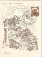 ITALY - MAXIMUM CARD - TACCOLA - CERRO AL VOLTURNO ( ISERNIA ) CASTELLO - 1980 - Cartoline Maximum