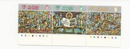 BRUNEI 1987 Sg 411-3 25tth Language And Literature Bureau Set MNH - Brunei (1984-...)