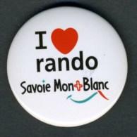 """Badge """"Randonnée Savoie Mont-Blanc"""" - Alpinisme"""