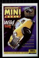 Mini World Postcard, Miniworld Magazine Cover November 1996 - Voitures De Tourisme