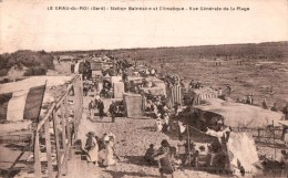 30 LE GRAU DU ROI VUE GENERALE DE LA PLAGE CIRCULEE 1929 - Le Grau-du-Roi
