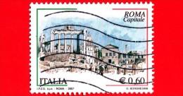 ITALIA - Usato - 2007 - Roma Capitale - 0,60 € • Foro Romano - 6. 1946-.. Repubblica