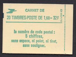 2219-C2 ** ( 2219C2 ), Carnet  Liberté  Avec Daté 22.4.82 , Conf. 8, Neuf Fermé - Carnets