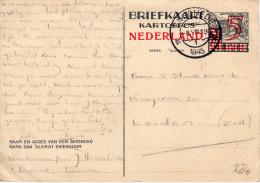 Bk G280 Enschede-Leiden - Postwaardestukken