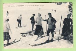 SPORTS D' HIVER - SKIEURS Sur Les Pistes  - 2 Scans - Winter Sports