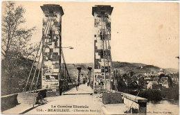 BEAULIEU - L' Entrée Du Pont (Pont Suspendu)  (84468) - Sonstige Gemeinden