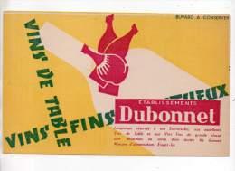 Buvard - Vins De Table - Ets. Dubonnet - Buvards, Protège-cahiers Illustrés