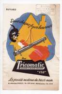 Buvard - Tricomatic, Machines à Tricoter Familiales - Buvards, Protège-cahiers Illustrés