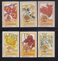 ZIMBABWE, 1996, MNH Stamps, Flowers, Mi 568-573  , #5183 - Zimbabwe (1980-...)