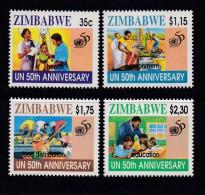 ZIMBABWE, 1995, MNH Stamps, Insects, Mi 564-567  , #5182 - Zimbabwe (1980-...)