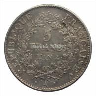 SUPERBE  Réplique  écu  De  5 Francs  An 4 A  - DIRECTOIRE - 1795   **UNION ET FORCE** - France