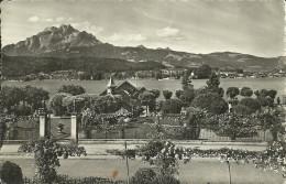 VIEW FROM POLYTECHNIC CHALETS, SEEBURG, LUCERNE, LU, SWITZERLAND. - LU Lucerne