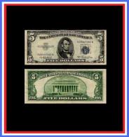 Billet 5 Dollar - 1953 - Washington - �tat TTB**  - Faut� : Marge haute plus petite