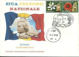 Romania / Postal Stationery With Special Cancellation / Eminescu, Iorga, Enescu - Other
