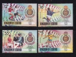 LESOTHO, 1989, MNH Stamps, Soccer Champions, Mi 819-822, #2716 - Lesotho (1966-...)