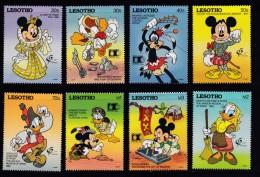 LESOTHO, 1992, MNH Stamps, Disney,  Mi 970-977, #2743 - Lesotho (1966-...)