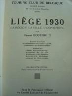 Liège ; Expo  1930 Guide Officiel - Livres, BD, Revues