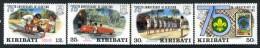 1982 - KIRIBATI - Mi. 408/411 - NH - (REG2875.....C) - Kiribati (1979-...)
