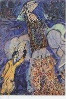 Maurice Chagall - Mosaïque Baptistère -  Plateau D'Assy église Notre Dame De Toute Grâce -  (cp Vierge) - Arts