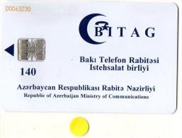 TELECARTE AZERBAIJAN 140 - Azerbaïjan
