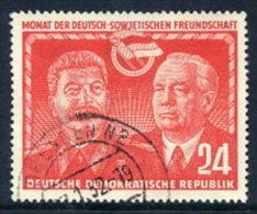 DDR 1951 German-Soviet Friendship 24 Postally Used.  Michel 297  €10 - [6] Democratic Republic