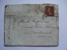 GB VICTORIA 1878 COVER KINGTON DUPLEX TO DROITWICH - 1840-1901 (Victoria)