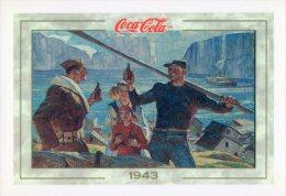 [DC1385] CARTOLINEA - COCA COLA - 1943 - ICELAND (33) - Werbepostkarten