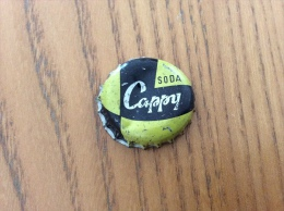 "Ancienne Capsule de soda (rare) ""SODA Cappy"" (int�rieur li�ge)"