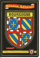 Blason Armoiries  Bourgogne Héraldique Ecusson Adhésif - Bourgogne