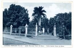 Mocambique. Mozambique. Lourenço Marques (P.E.A.). Jardim Municipal Vasco Da Gama. Public Garden. Stamps: South Africa. - Mozambique