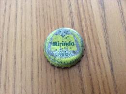 "Ancienne Capsule de soda Espagne ""Mirinda LIMON - VALENCIA"" (int�rieur li�ge)"
