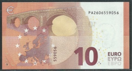 PAYS-BAS  10 EURO  PA P002 I5   DRAGHI   UNC - EURO
