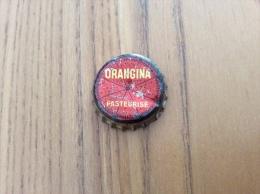 "ancienne Capsule de soda ""ORANGINA PASTEURIS�"" (int�rieur li�ge)"
