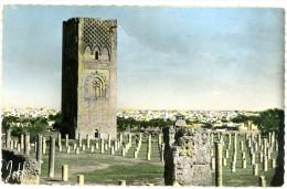 Maroc. Rabat. La Tour Hasan. Cachet Postal: Rabat 1957. - Rabat