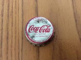 "ancienne Capsule de soda ESPAGNE ""Coca-Cola - VALENCIA"" (int�rieur li�ge)"