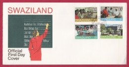 SWAZILAND, 1984, Mint FDC, Education, Mi 445-448 , F999b - Swaziland (1968-...)