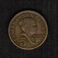 PHILIPPINES  5 SENTIMOS 1972 (KM # 197) - Philippinen