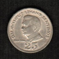 PHILIPPINES  25 SENTIMOS 1970 (KM # 199) - Philippinen
