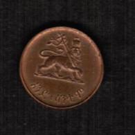 ETHIOPIA  1 CENT 1936 (KM # 32) - Ethiopia